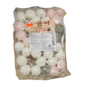 수라상 모듬 꿀떡 500g-흰,쑥.딸기