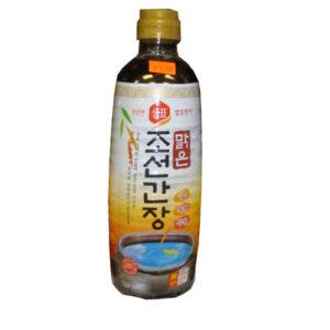 샘표 맑은 조선간장-930ml (국간장)