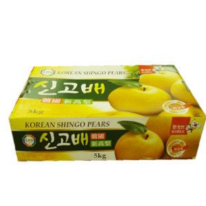 한국산 신고배 5kg(9~10과)