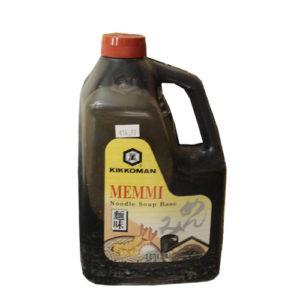 Kikkoman Memmi sauce 1.89L [다용도 양념간장]
