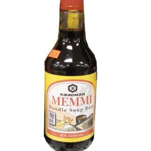 Kikkoman Memmi sauce 591ml [다용도 양념간장]