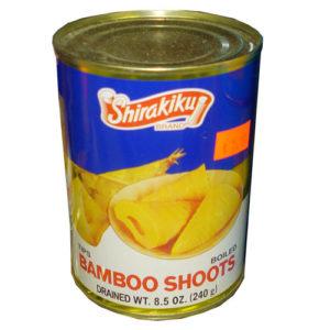 Bamboo shoots 240g half cut