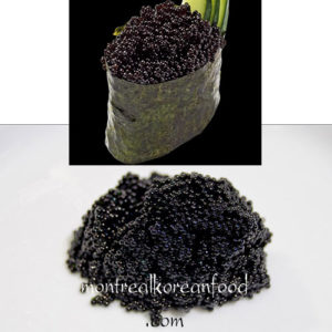 Tobiko Black 100g [Seasoned Frying fish Caviar]