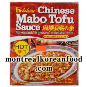 [House food] Chinese Mapo Tofu Sauce(Hot)