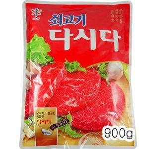 백설 쇠고기 다시다 1kg