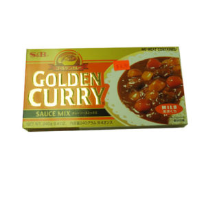 S&B Golden Curry Mild 240g