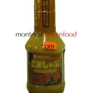 Goma Shabu 250ml-Sesame sauce for shabu-shabu