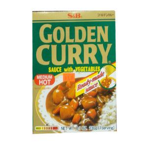 S&B-Golden Curry Medium 230g(3분카레)
