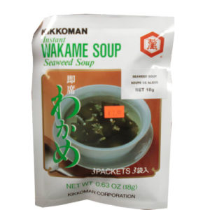Kikkoman 일본 미역국 3인분 [Wakame soup] 18g