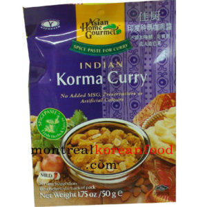 AHG Indian Korma curry 50g