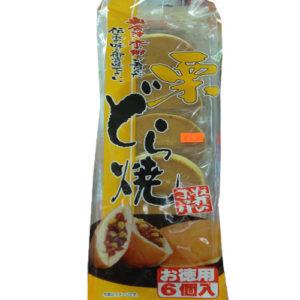 Kuri Dorayaki 5pcs(390g)-밤과 단팥이 가득
