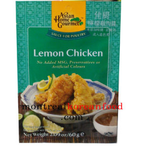 AHG Lemon chicken 50g