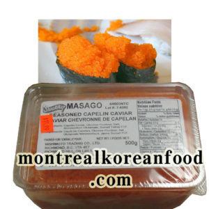 Shirakiku Masago 500g [Seasoned capelin roe]