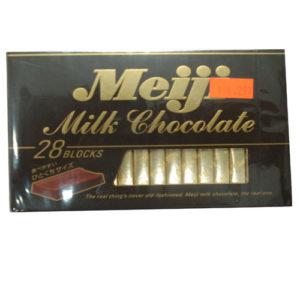 Meiji Milk Chocolate 28 blocks 140g