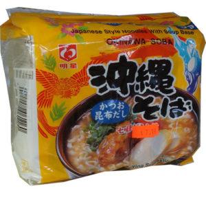 Japanese Instant noodle Okinawa soba 5pack