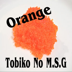 No M.S.G Tobiko Orange 454g