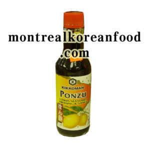Kikkoman Ponzu 296 ml-Citrus seasoned dressing&sauce