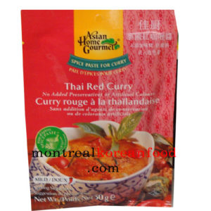 AHG Thai red curry 50g