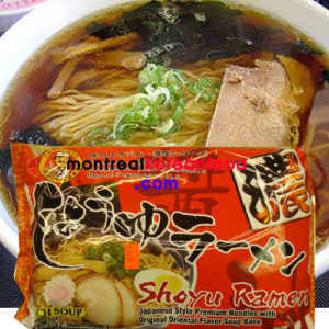 Shoyu Ramen w/oriental original soup 일본정통 쇼유 라면 2serving
