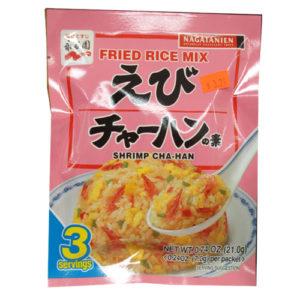 Nagatanien Fried rice mix-shrimp flavor Cha-Han 3인분 20.4g