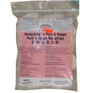 Chinese pork & Nappa dumpling