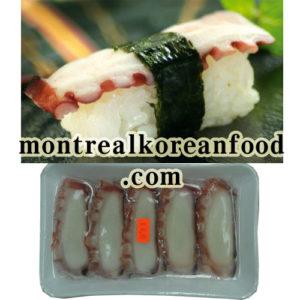 Sliced Sushi Tako [문어] 160g-10pcs