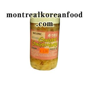 Wel-pac Pickle Ginger [수시용] 325g