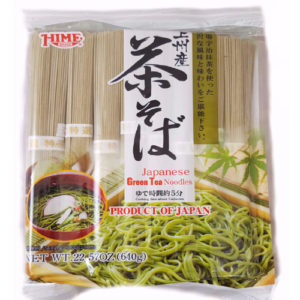 Hime Japanese green tea noodle 640g