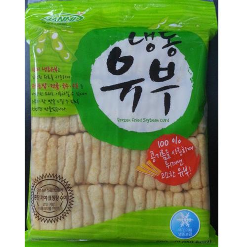 냉동 한미 또는 대림 유부 500g [우동,김밥,전골용]