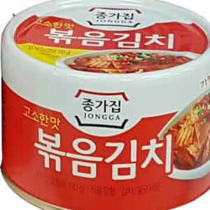 종가집 고소한맛 볶음김치 통조림 160g