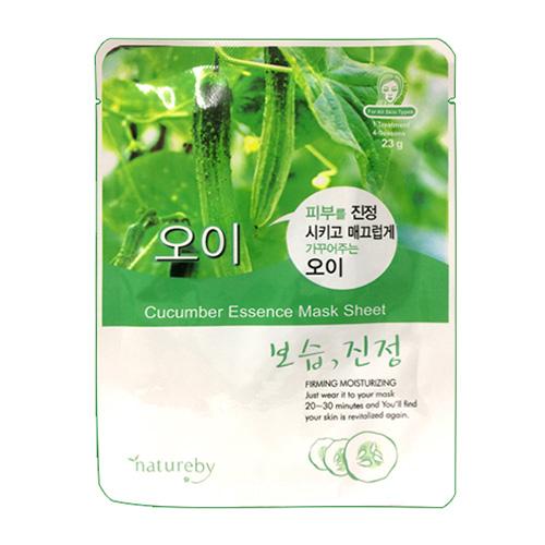 Natureby 한국산 마스크팩-오이[보습,진정]
