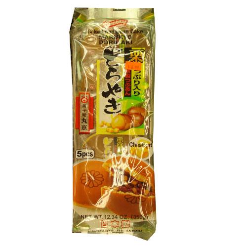 Shirakiku Dorayaki(밤) 5pcs 290g