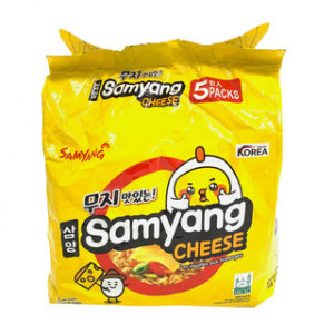 삼양 라면 치즈맛 5팩