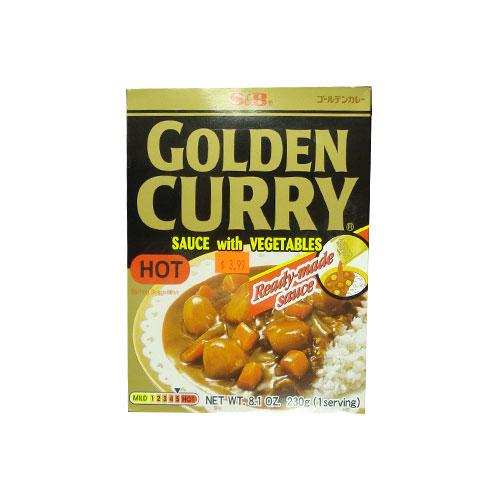 S&B-Golden Curry Hot 230g(3분카래)