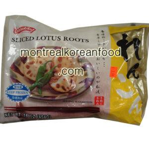 Shirakiku 냉동 연근 sliced 454g
