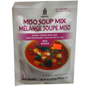 Mishima Miso soup mix [Red] 3p