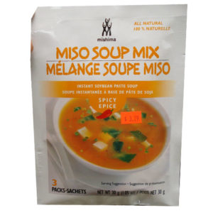 Mishima Miso soup mix 30g [spicy] 3p