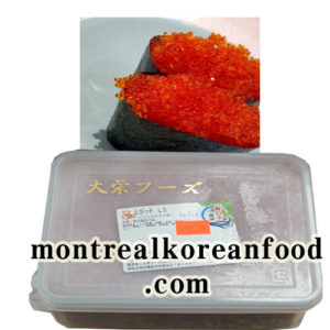 Tobiko Red L3 500g [REd Capelin Roe]